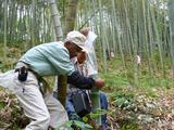 真備の竹水