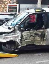 La Fiat Multipla coinvolta nell'incidente in via Torresi-2[1]2