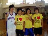 06年夏合宿体育館