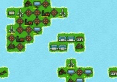 発電所を作る放置ゲーム