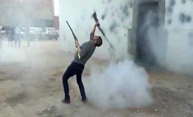 アルジェリアの銃の舞い