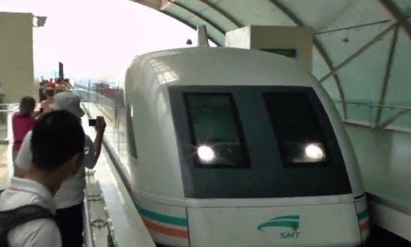 世界一速い中国の電車