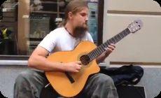 ポーランドのギター弾き