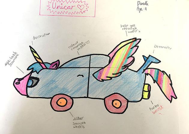 子供が考えた未来の車をリアルに (6)