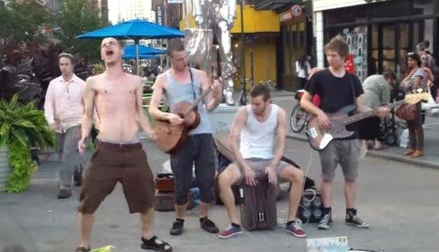 トムウェイツみたいな路上バンド