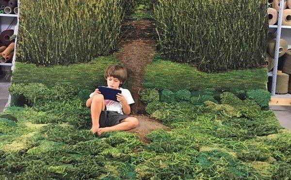 自然のカーペットの可能性