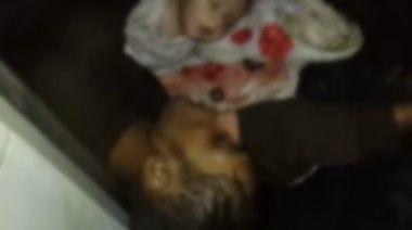 化学兵器で殺害されたシリアの人たち
