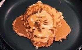 サルのパンケーキ