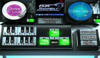 DJプレイが体験できるサウンドパッド、ソフト
