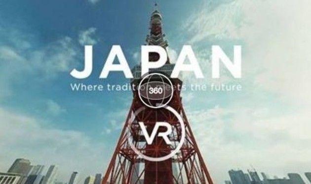 360度映像の日本紹介動画