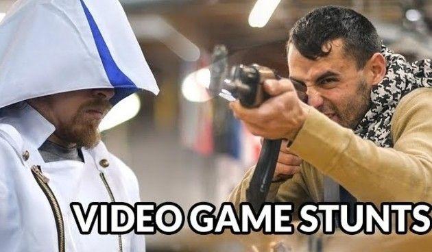 ゲームキャラで殺陣