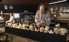 ネコの鳴き声で演奏する鍵盤楽器 (1)