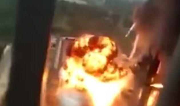 フランスの原発爆発事故