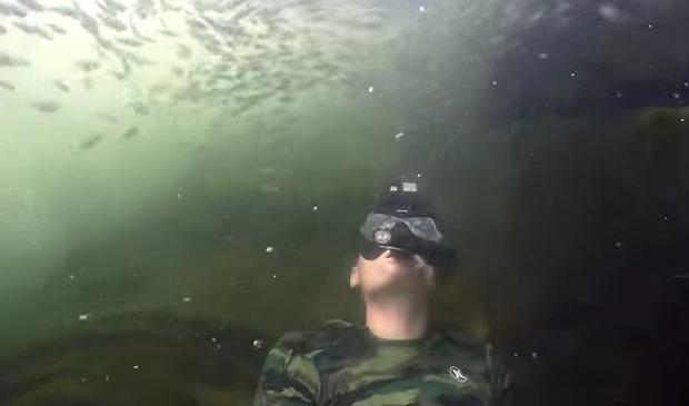 川のトレジャーハンター