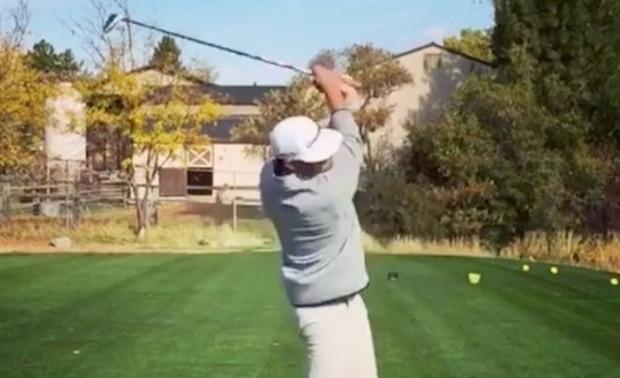 ゴルフの信じられないトリック