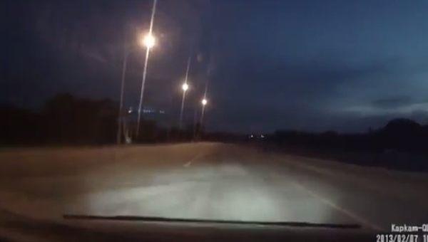 ショッキングなサプライズがあるロシアのドラレコ動画