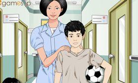 心臓の手術のシミュレーションゲーム