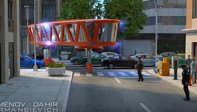 未来の消防車
