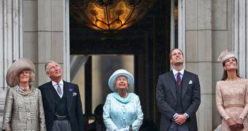 エリザベス女王治世60周年を祝うイギリス (1)