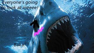 ツンデレのサメ