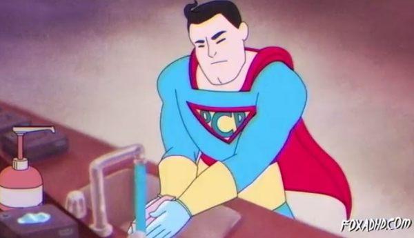 強迫性障害のスーパーマン