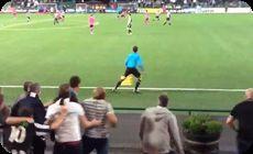 スウェーデンのサッカーの楽しみ方、審判ジャッジ