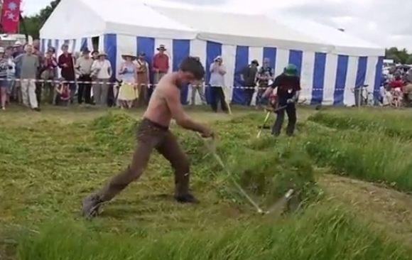 草刈りのジョン・ヘンリー