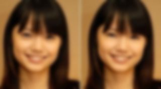 涙袋を取った日本人の顔