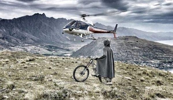 中つ国に舞い降りたチャリンコライダー