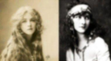100年前の女性の写真