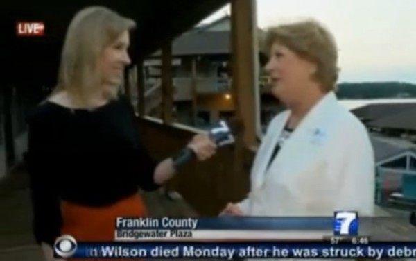 アメリカのレポーターが生放送中に射殺される