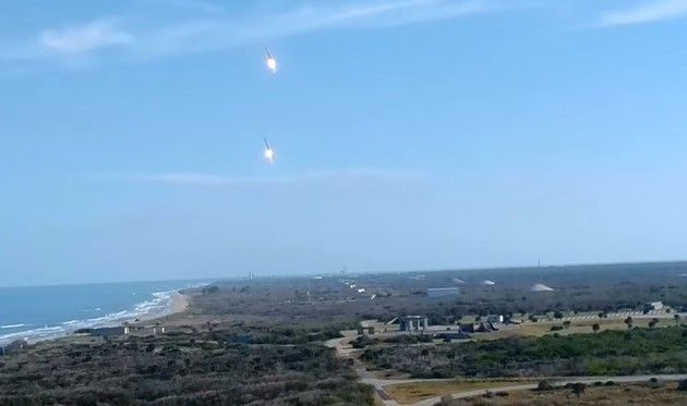 スペースX社のロケットの着陸