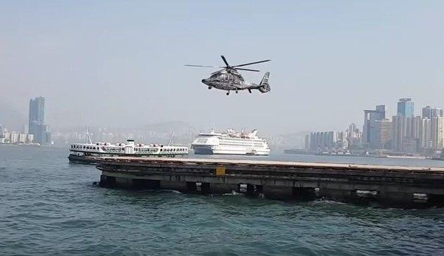 ヘリコプターとシャッタースピード