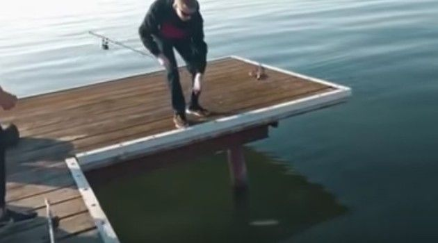 釣り人は二度釣る。