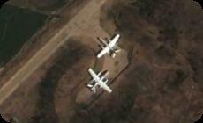 北朝鮮の基地、グーグルアース