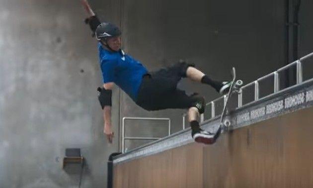 【動画】 スケーターのトニー・ホーク氏が50歳で50トリックを披露!!