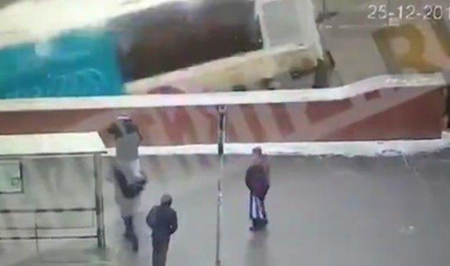ロシアのバスの事故