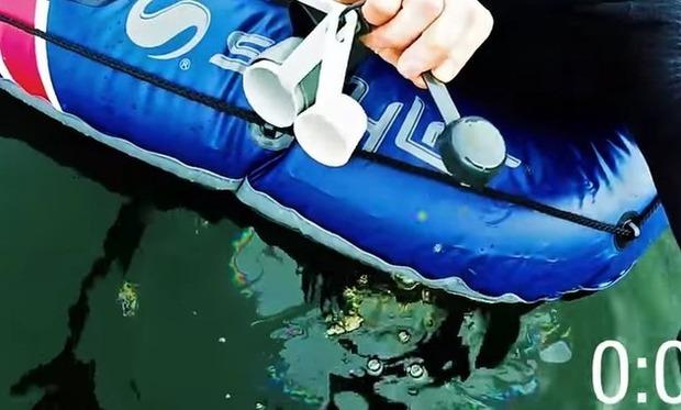 湖にオリーブオイル一滴