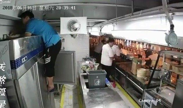冷蔵庫修理で感電死