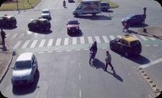 映像コラージュ作品、道路