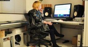 ミュージシャンのスタジオ