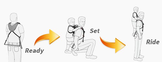 piggyback-rider