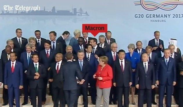 ドイツのG20でフランス大統領の努力と暴動