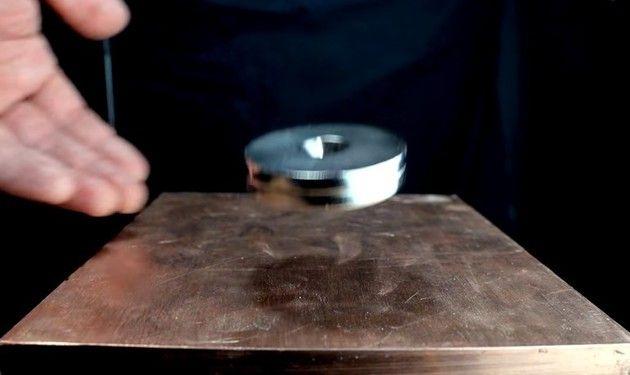 銅と磁石の関係