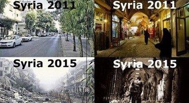 シリアの戦前、戦後