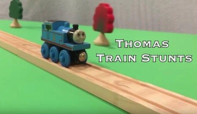 トーマスのアクロバット