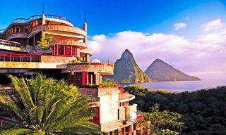 カリブの絶景リゾートホテル画像 (1)