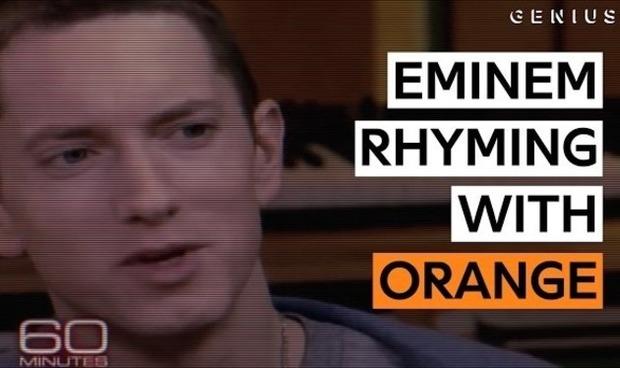 エミネムのラップ、オレンジ