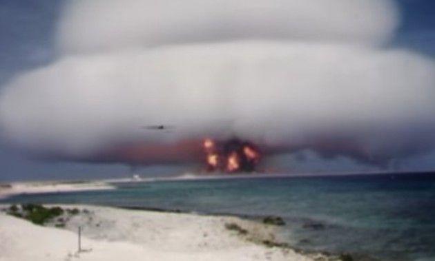 新たに公開された核実験の映像