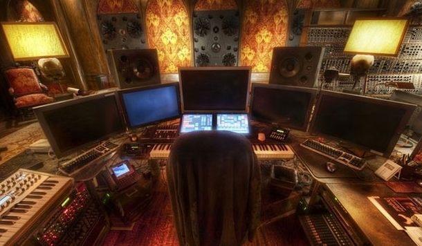 ハンスジマーのスタジオ